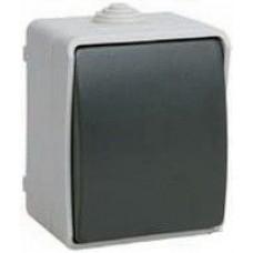 Выключатель одноклавишный для открытой установки IP54